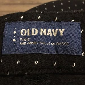 Old Navy Jeans - Old Navy Pixie Mid-Rise Jeans.